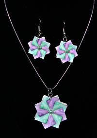 Pastel Butterflies - Square side 1