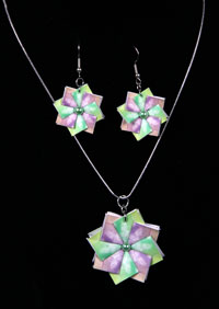 Pastel Butterflies - Square side 2